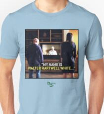 my name is Walter Hartwell White - confession - heisenberg Unisex T-Shirt