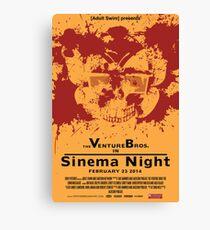 Sinema night Venture Bros Movie Canvas Print