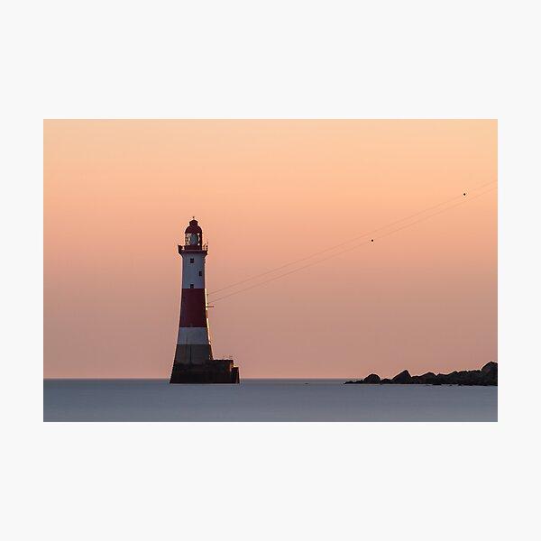 Beachy head Lighthouse Photographic Print
