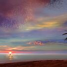 Rowing At The Sunset by Igor Zenin