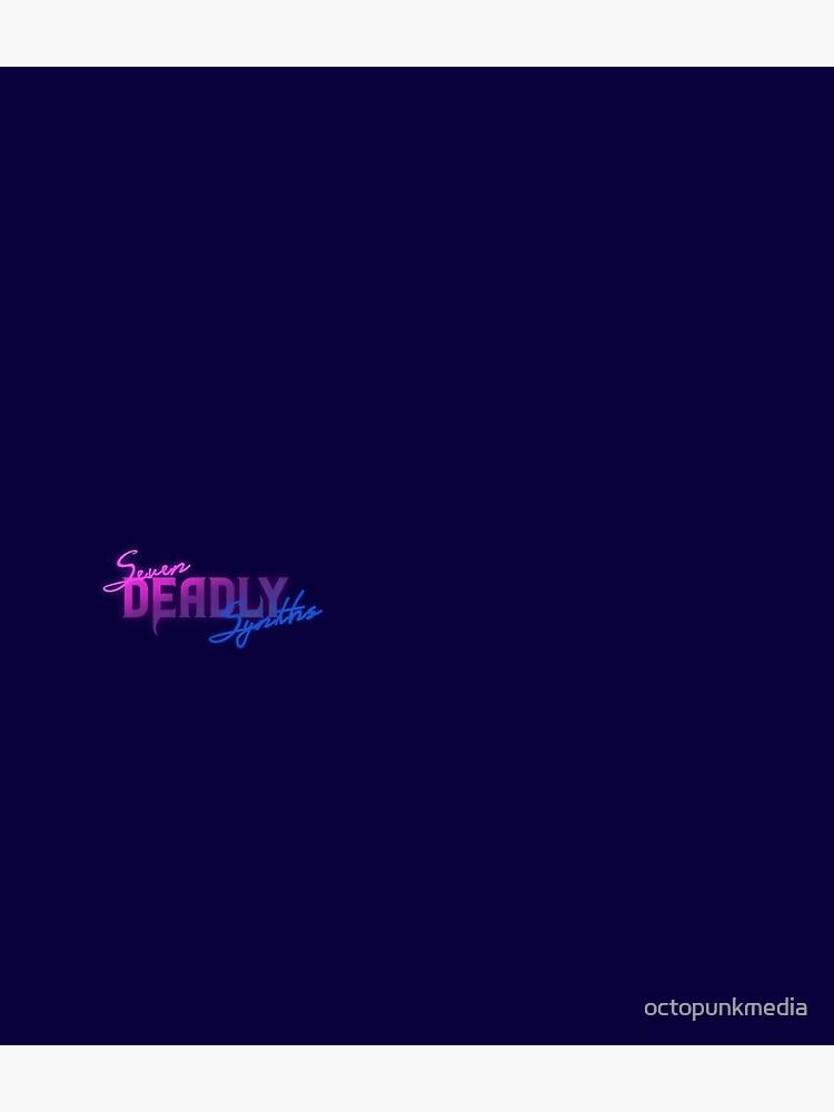Seven Deadly Synths Logo by octopunkmedia