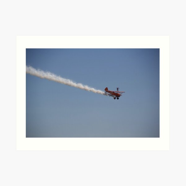 Wingwalker Art Print