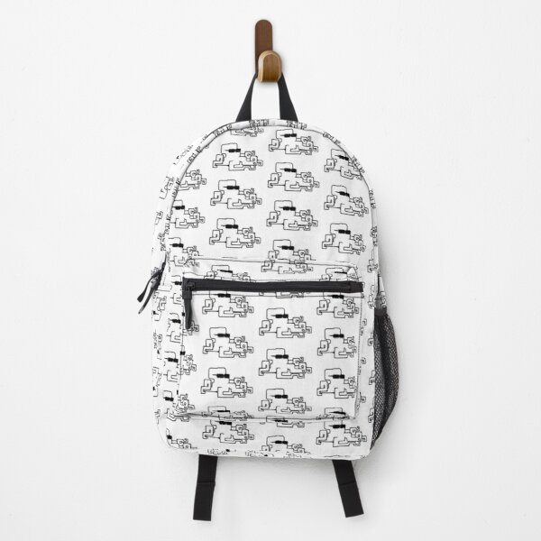 Iggy The Octopunk Pattern Backpack