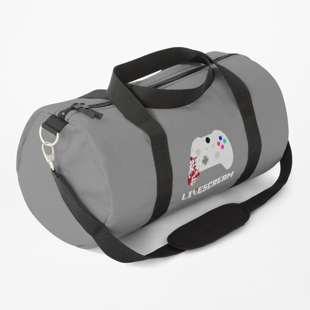 Livescream Poster Design Duffle Bag
