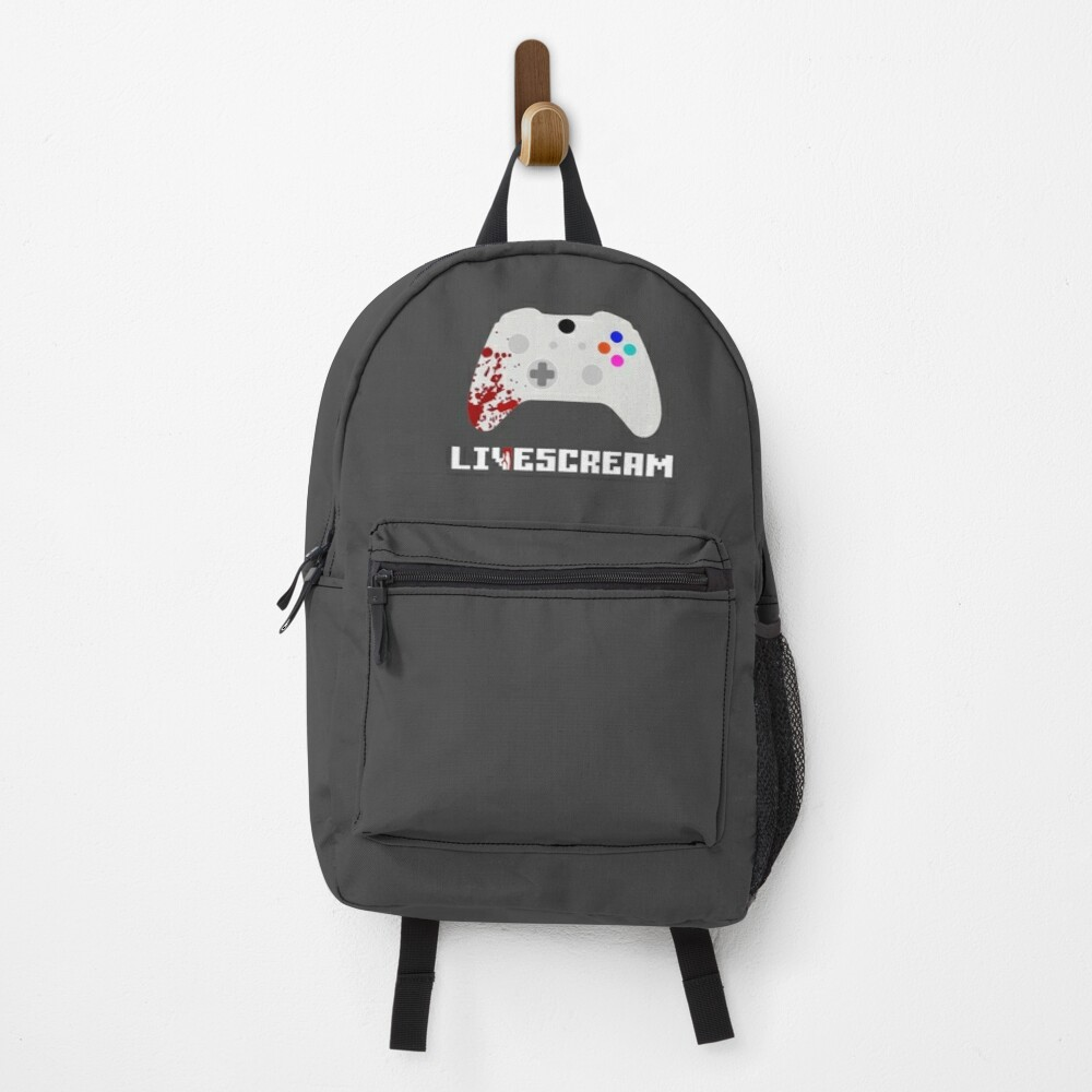Livescream Poster Design Backpack