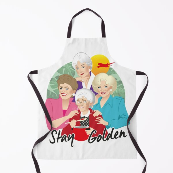 Stay Golden Apron