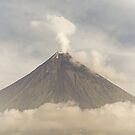 Mayon Volcano by Edward Perry