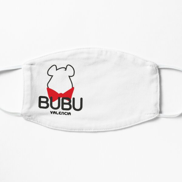 Bubu logo (for light colours) Flat Mask