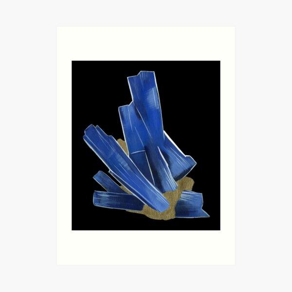 Kyanite - Bladed Crystal Art Print