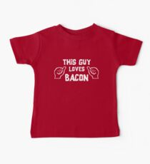 This Guy Loves Bacon Kids Clothes