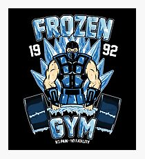 Frozen Gym Photographic Print
