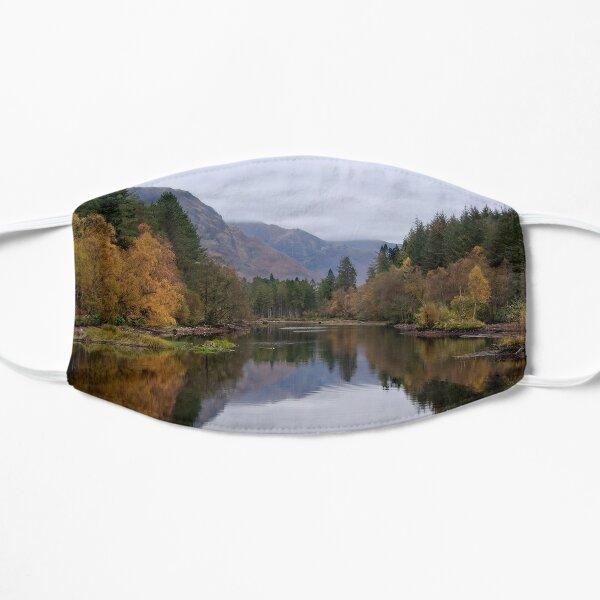 Autumn at Glencoe Lochan, Glencoe, Scotland Flat Mask