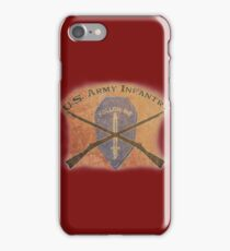 U.S. Infantry - I am the Infantry!  FOLLOW ME! iPhone Case/Skin
