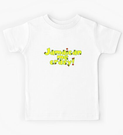 Jamaican me crazy! Kids Clothes