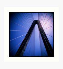 Arthur Ravenel Jr. Bridge - Charleston, SC #1 Art Print