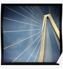 Arthur Ravenel Jr. Bridge - Charleston, SC #3 Poster