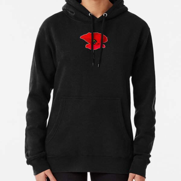Pissed off Poppy Pullover Hoodie