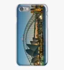 Sydney Harbour Panorama iPhone Case/Skin