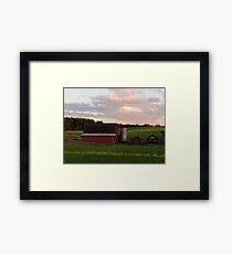 Rural Scene Framed Print
