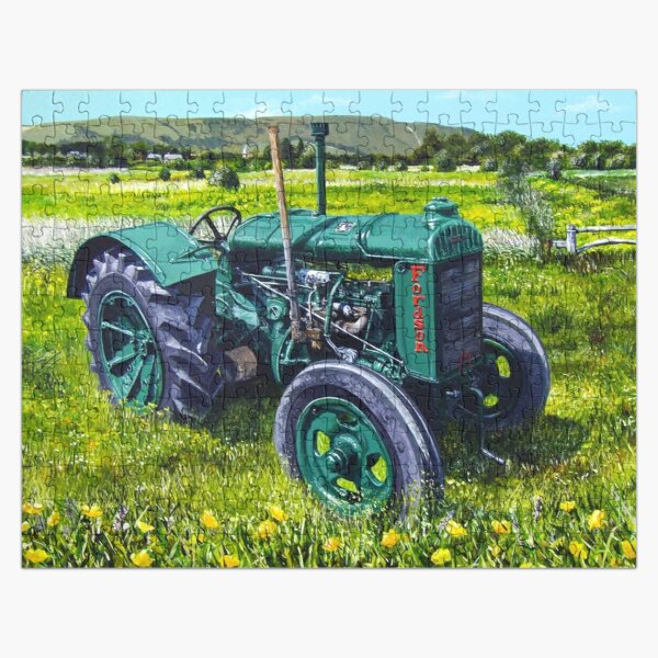 Fordson on the Brooks Jigsaw Puzzle