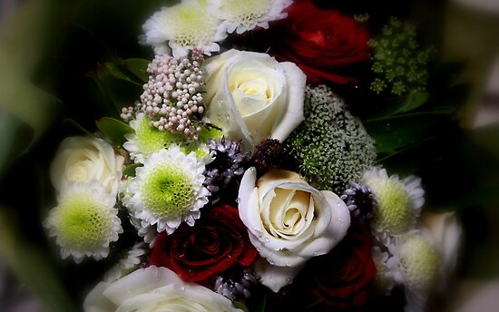 """""""A Birthday Bouquet """" by Rosehaven"""