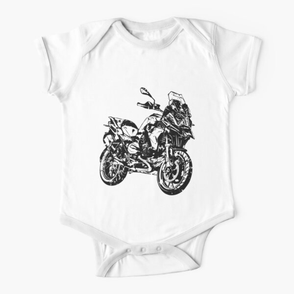 R 1200 GS Dirty Short Sleeve Baby One-Piece