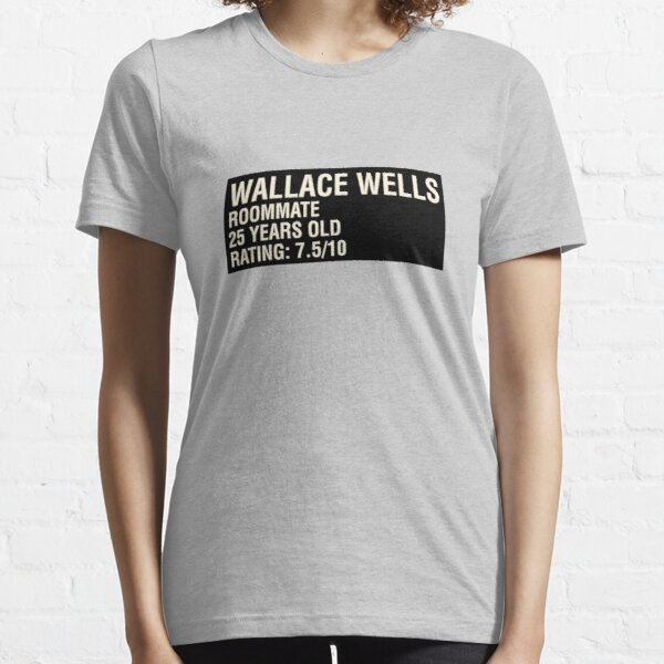Scott Pilgrim - Wallace Wells' Name Card Essential T-Shirt