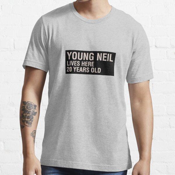 Scott Pilgrim - Young Neil's Name Card Essential T-Shirt