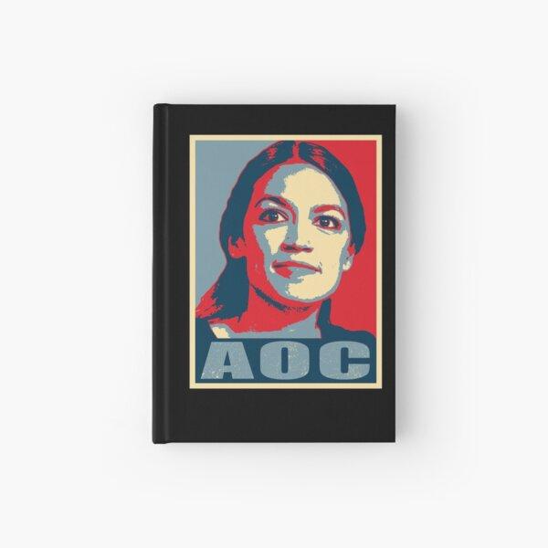 AOC - Alexandria Ocasio Cortez - Hope Design Hardcover Journal