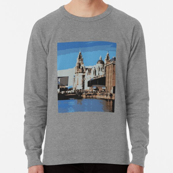 Liverpool - Albert docks Lightweight Sweatshirt