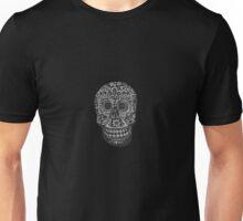 FLAT SKULL Unisex T-Shirt