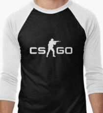 CSGO - White Men's Baseball ¾ T-Shirt