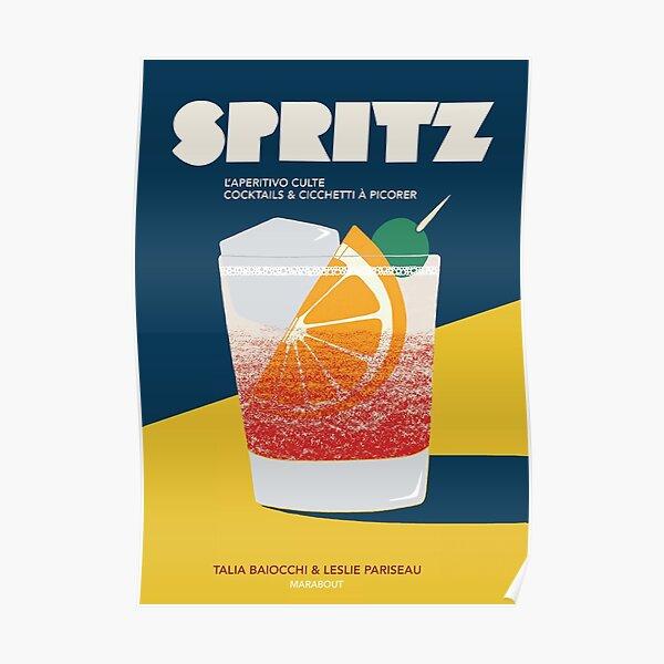 Aperol spritz vintage Poster
