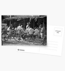 the boys and their bikes Postcards
