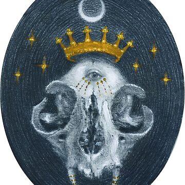 Skull Queen  by babswebb