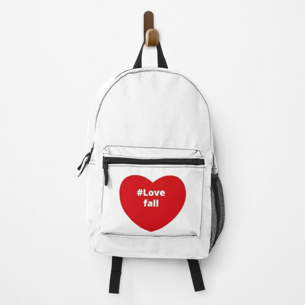 Love Fall - Hashtag your i Love Heart  Backpack