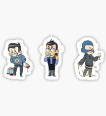 Blu Team Support Class Sticker Sheet!! Sticker