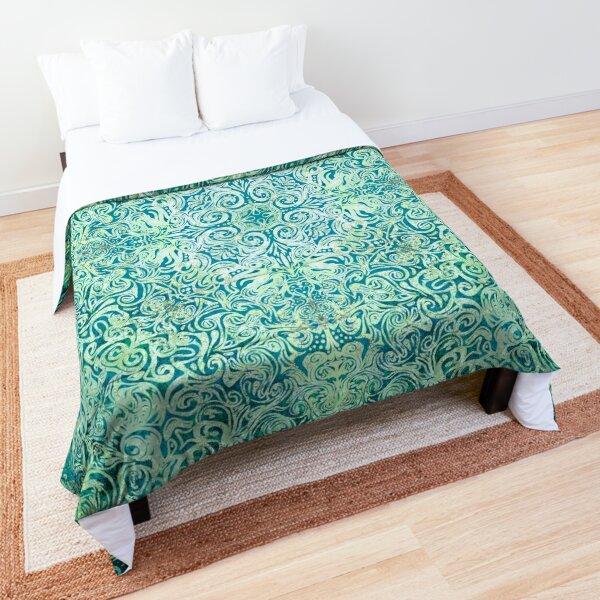 Ocean Mandala Comforter