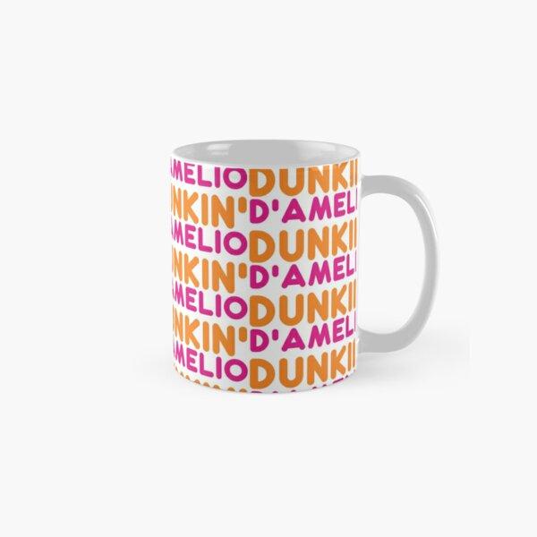Charlie Damelio   Dunkin Damelio White Tiled Classic Mug
