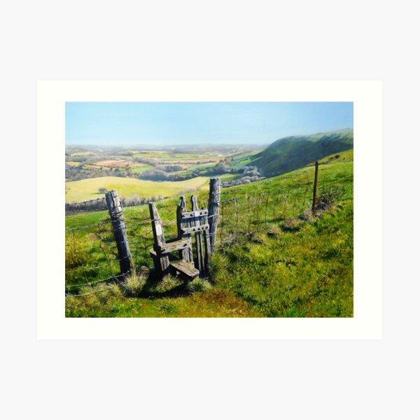Sussex Stile Art Print