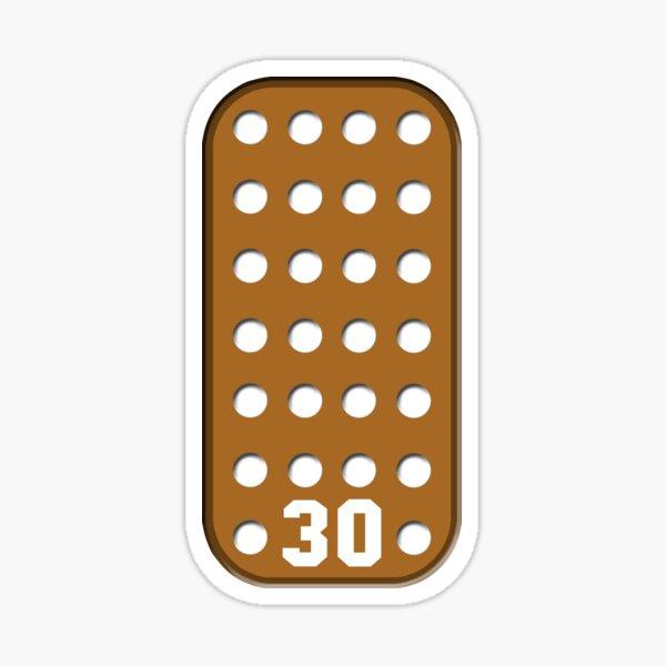 Vintage Goalie Blocker Sticker
