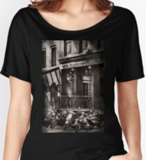 City - South Street Seaport - Bingo 220  Women's Relaxed Fit T-Shirt