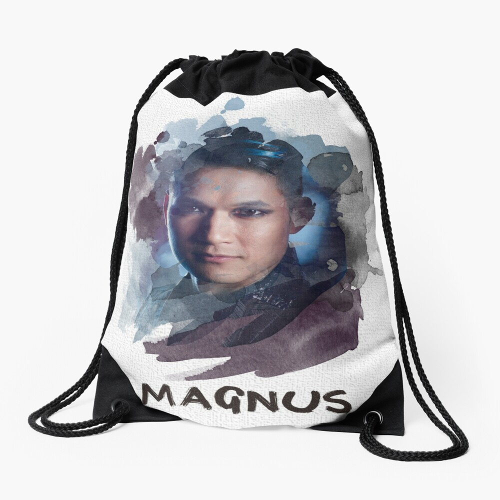 Magnus - Shadowhunters - Canvas Drawstring Bag