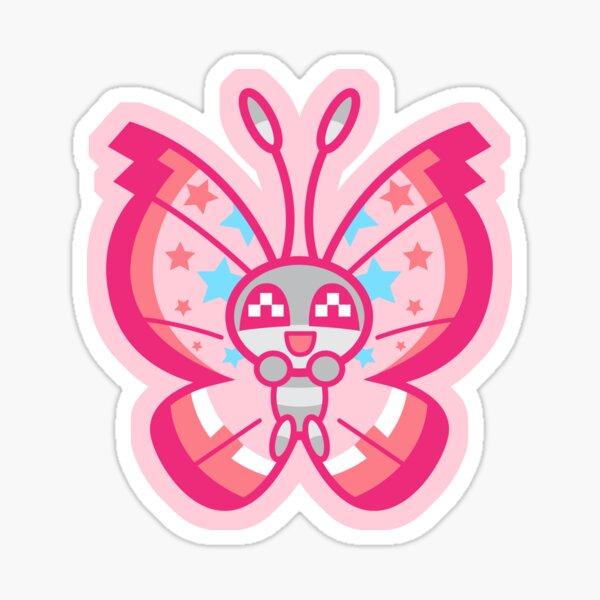Chibi Vivillion Sticker
