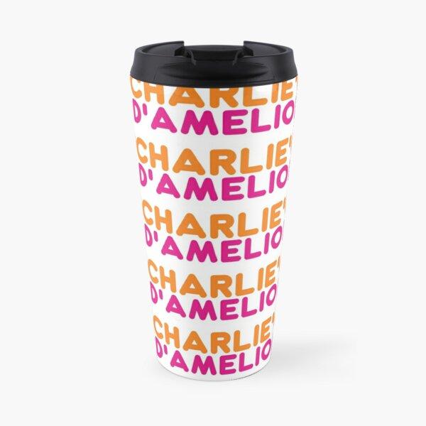 Charlie Damelio | Dunkin White Tiled Travel Mug