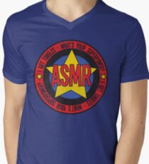 ASMR - What's Your Superpower? Mens V-Neck T-Shirt