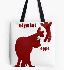 Hippy Horses fart Tote Bag
