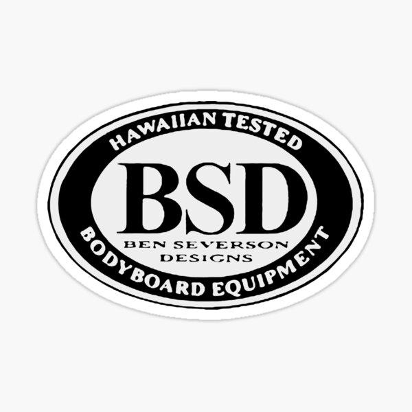 Bodyboard Ben Severson 2 Pegatina