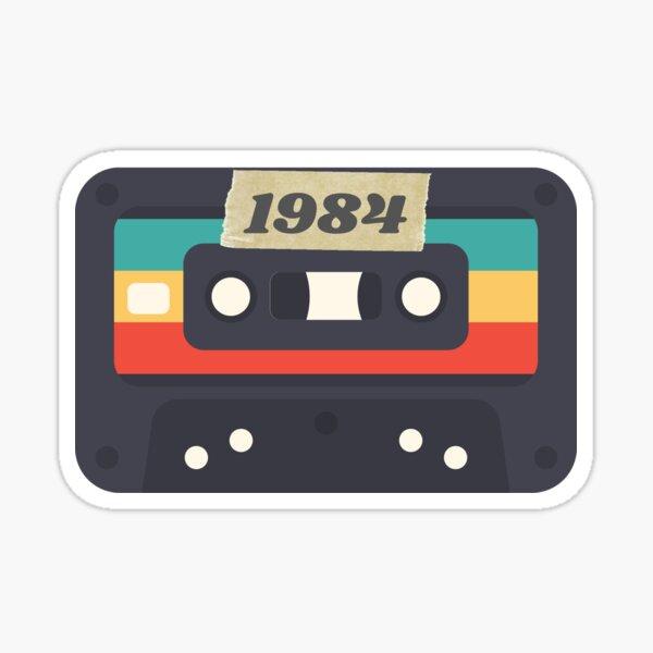 1984 Cassette Tape born in birth year Sticker