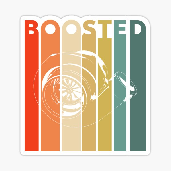 Boosted Turbo - Fat T Sticker